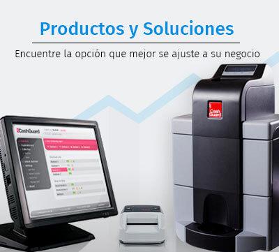 Productos SecureTPV detectores de billetes falsos TPVs cajones de seguridad gestión