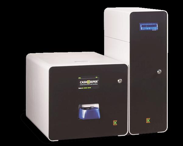 ck+ cashkeeper aluminio cajón control de efectivo securetpv