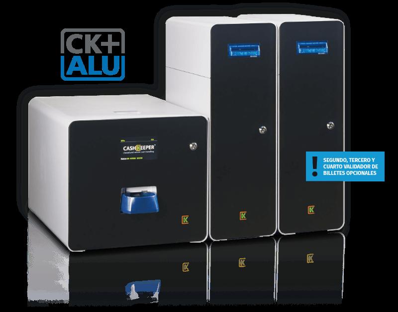 Cashkeeper CK+ alu dos validadores Securetpv