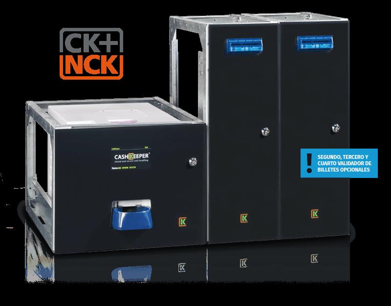 Cashkeeper ck+ nck 2 validadores securetpv