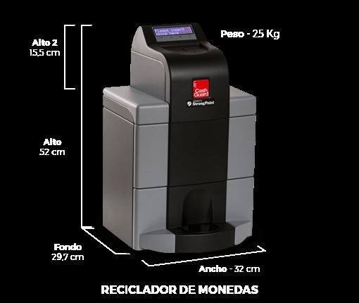 reciclador de monedas cashguard securetpv
